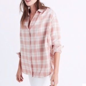 Madewell oversized button down. Sz M